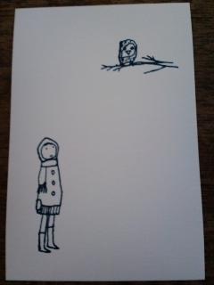 ハセガワマユさんのポストカード